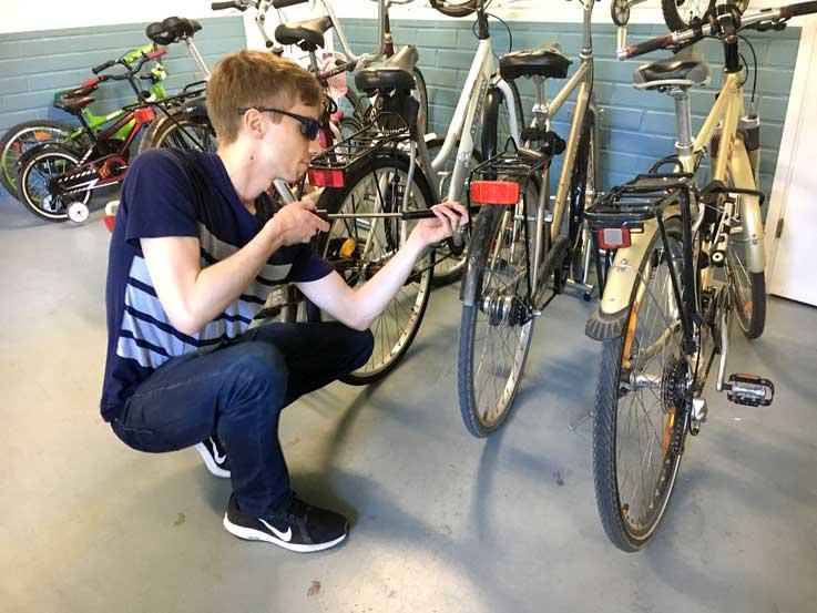 フィンランド自転車